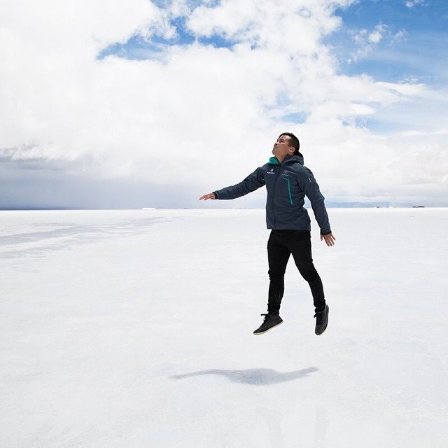 Take me away #antarcticaordie (at Salinas Grandes, Jujuy, Argentina)