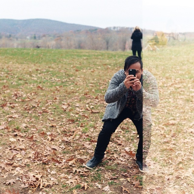 A 35 mm film scan by @mtmorgie (at Storm King Sculpture Park)
