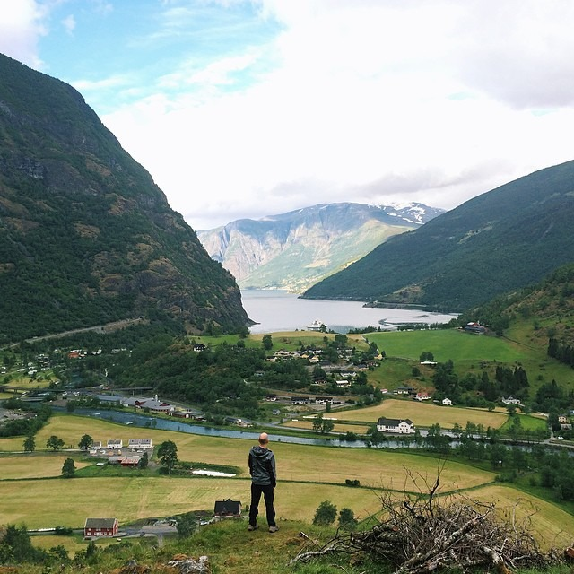 An unpublished image of Flåm, Norway - It's an interesting process looking back at old images and finding something that didn't catch your eye the first time around   #thisarcticlife #adventuretillwedie
