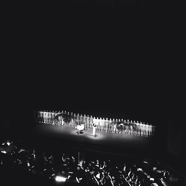Bravo @jr @lilbuckdalegend @laurenlovette @woodkidmusic @nycballet #jrnycballet  (at New York City Ballet)