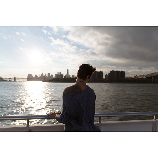 The sun will set for you (at East River)