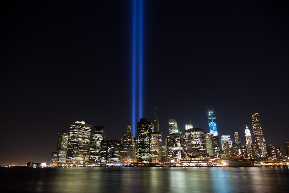 Today marks the 12th anniversary of the tragic events that happened on September 11th. I can still remember that day vividly. I took this photo last year from Brooklyn Bridge Park, and I'm very proud to be a resident of this beautiful, resilient, hopeful, inspiring, and strong city. #neverforget