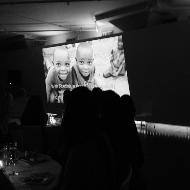 My work up on the big screen (at TriBeCa)
