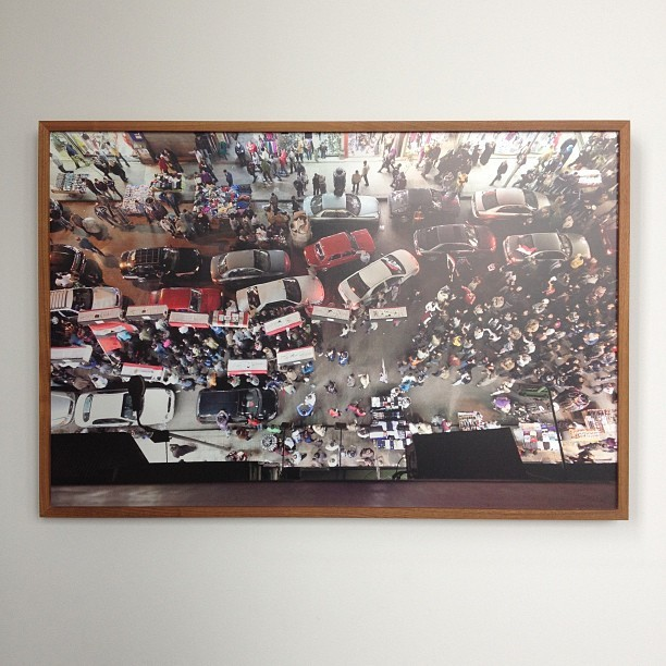 My Egyptian Revolution print at #iralippkestudios (at Esquire Building)