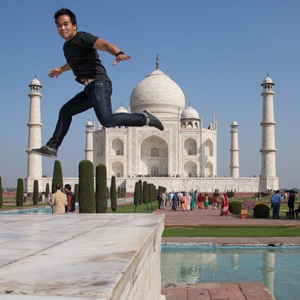 Oh hey Taj (at Taj Mahal, Agra)