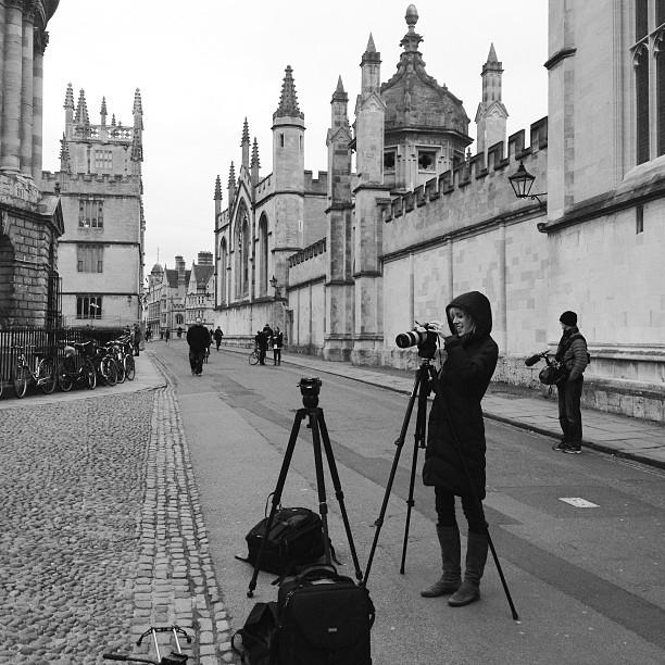 The crew @moscarpelli (at Oxford University)