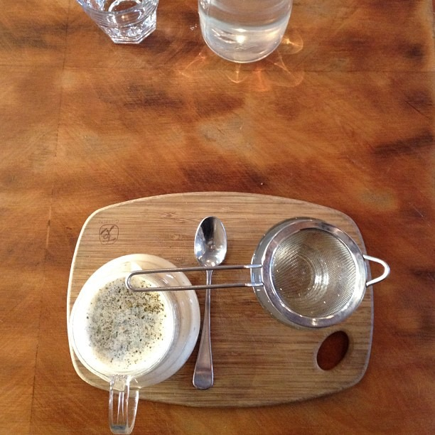 The fanciest chai ever (at Melbourne)