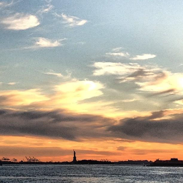 Liberty (Taken with  Instagram  at Brooklyn Bridge Park - Pier 1)