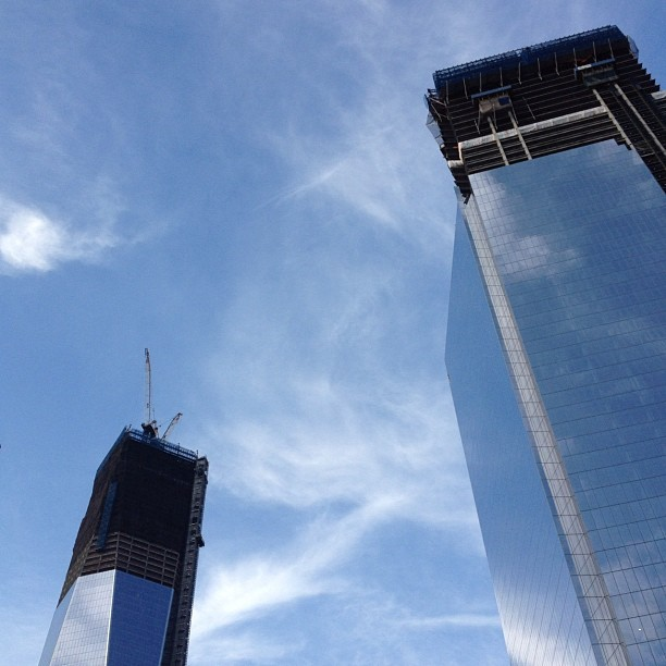 One World Trade Center, NYC (Taken with  Instagram )
