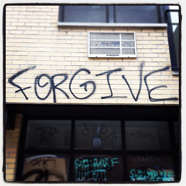 Forgive. Instagram photo taken in Brooklyn, NY