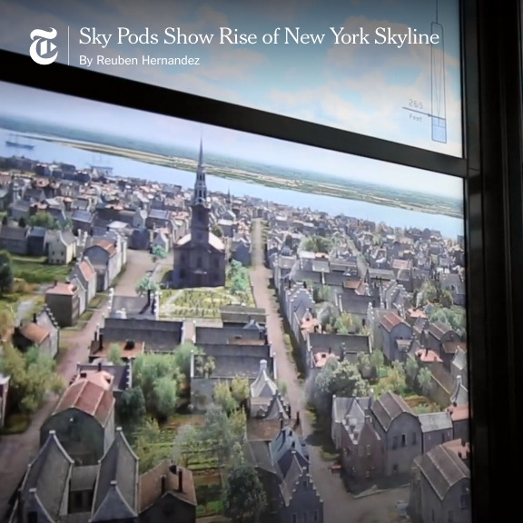 THE NEW YORK TIMES: Sky Pods