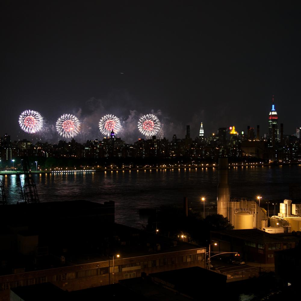 We Hope You Feel the Fireworks