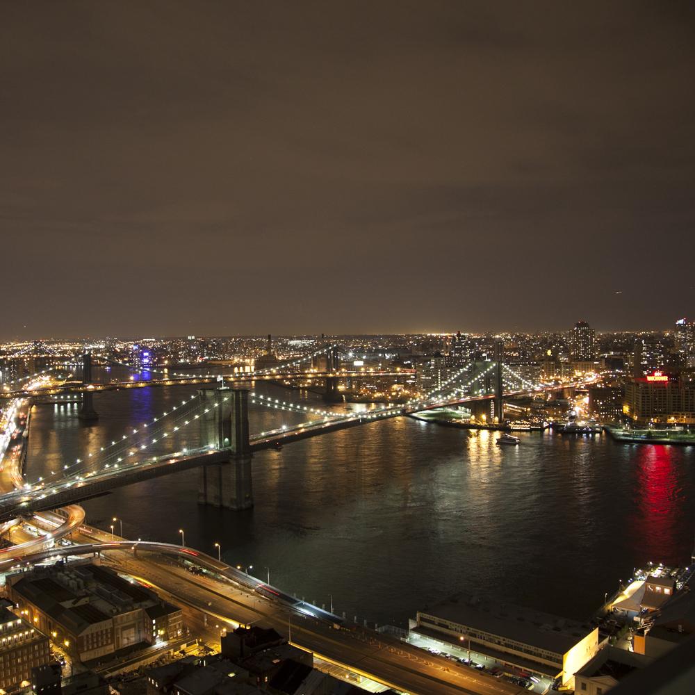 Brooklyn Bridge Day to Night