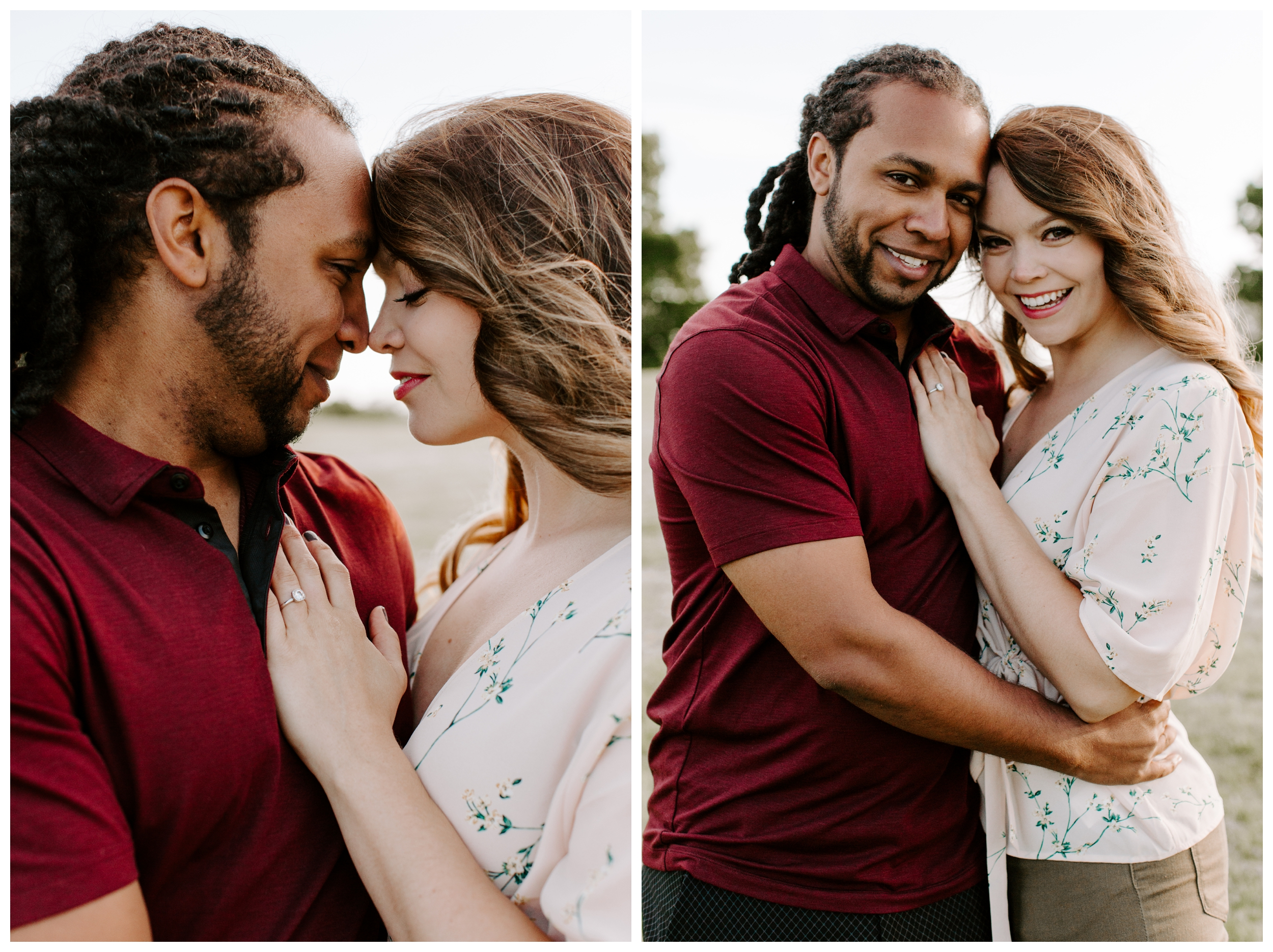 couple engagement photos