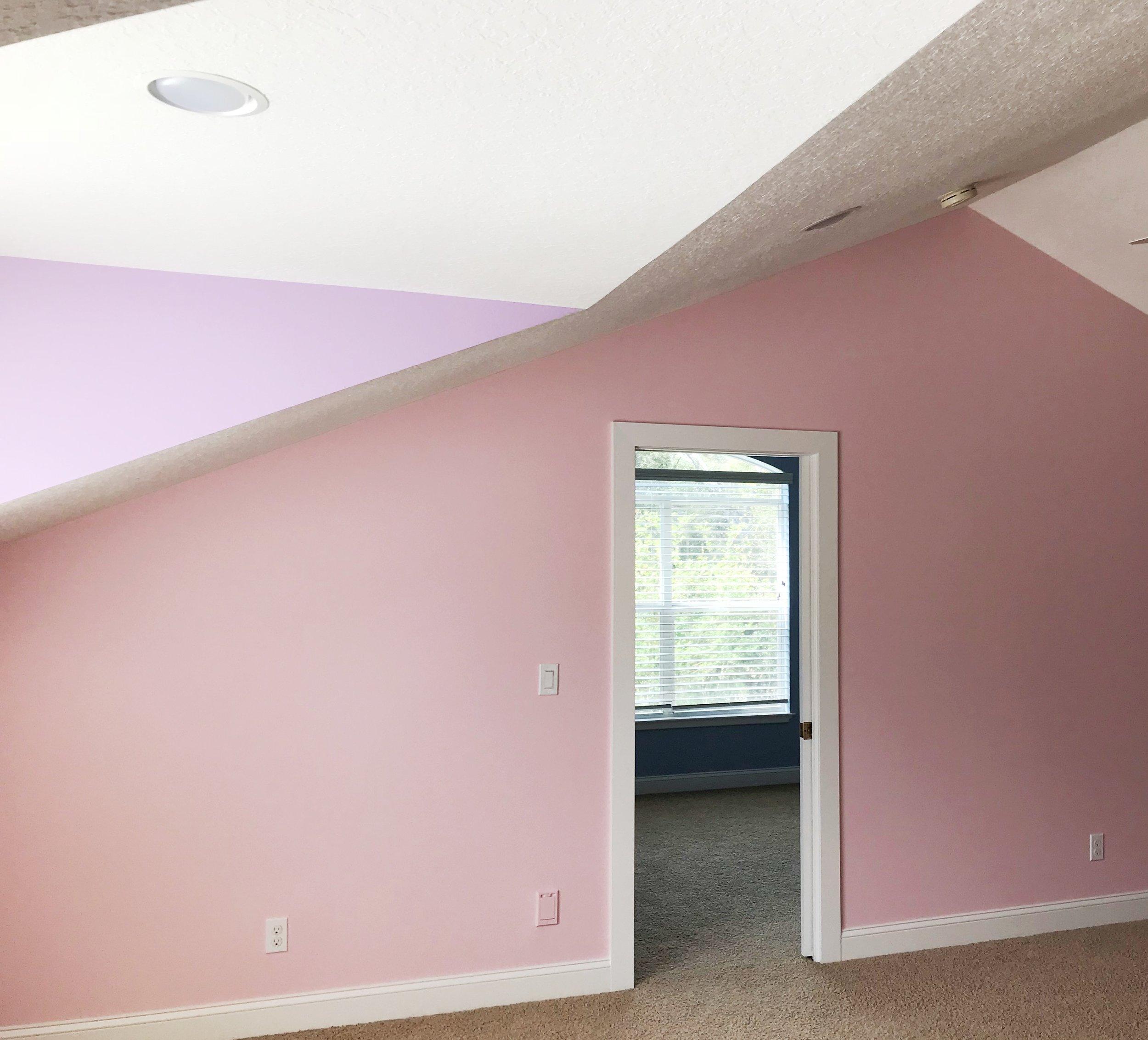 Classic look girls room