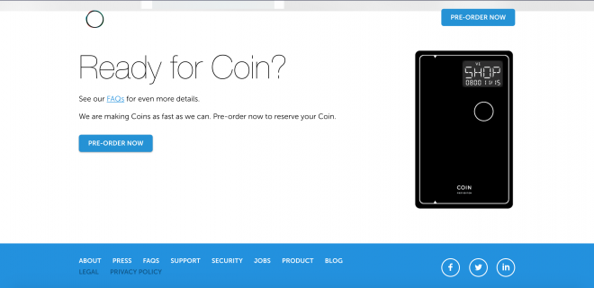 Stealth Mode Startup: Coin