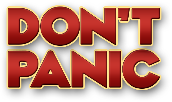 Don't Panic - content marketing strategy