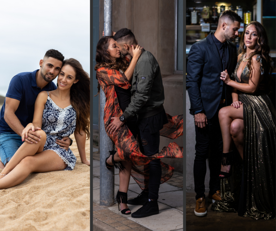 Engagement Shoot - There are two options: Option one is an hour shoot one location and one Style.Option two is a three style shoot, three locations and five hours, it also comes with a 30pg A4 engagement album.