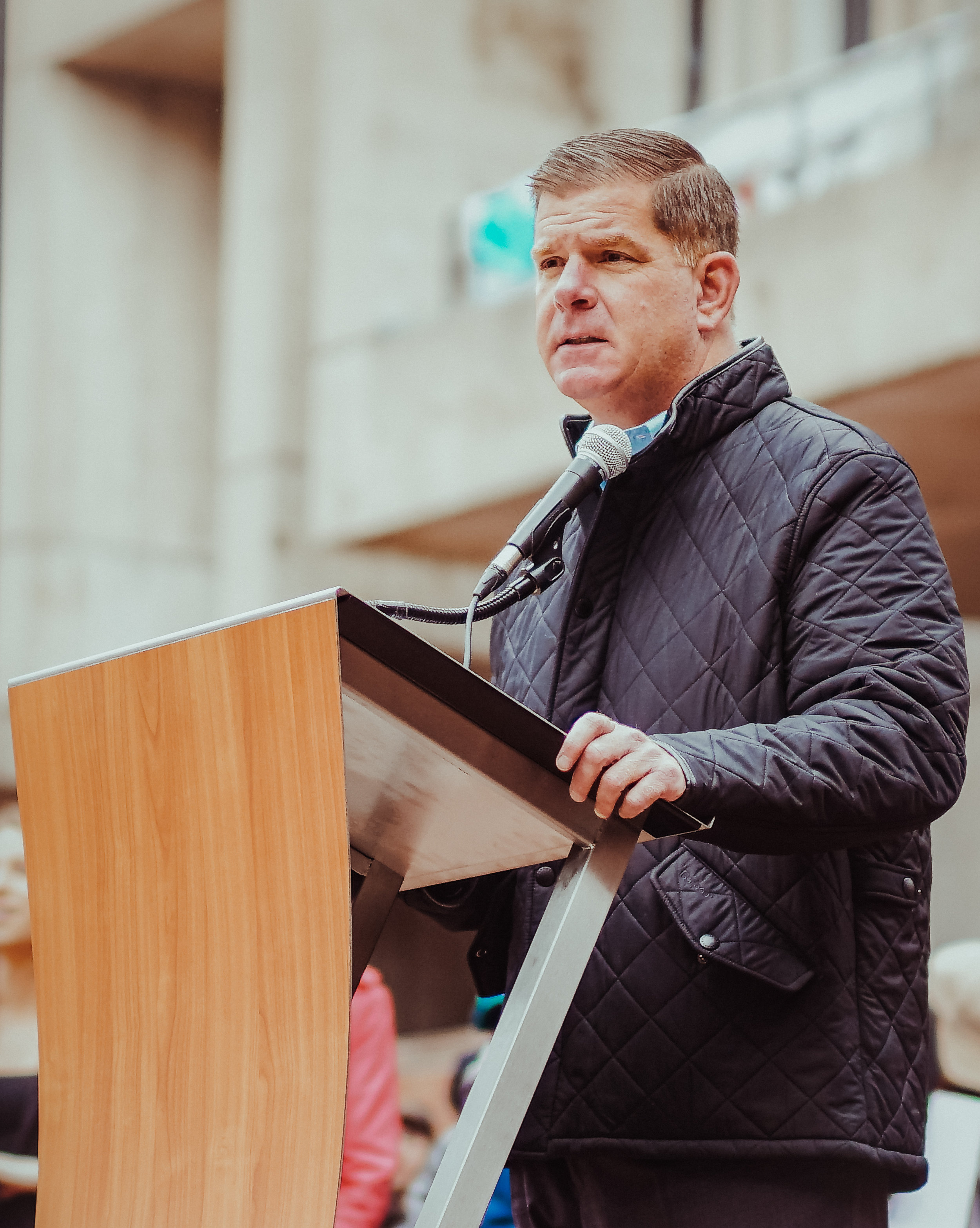 Mayor of Boston Marty Walsh - Trans Rights Rally 2018