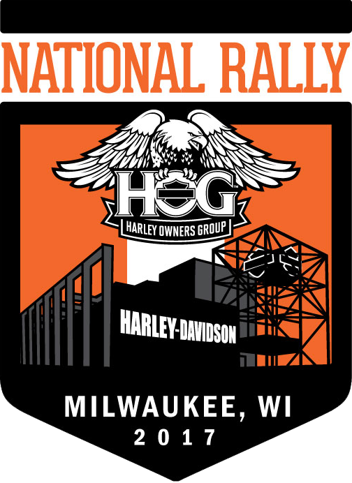 National H.O.G. Rally  H.O.G. members! Get your commemorative rally tee, pin and patch for only $25! Plus four days of exclusive rally attendee rides! Not a member?  Sign up here .