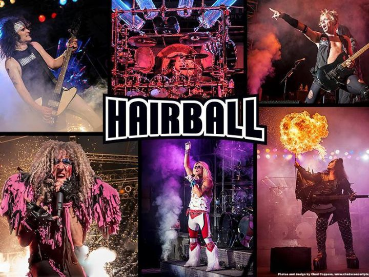 THURSDAY, AUGUST 31  Hairball on the main stage.