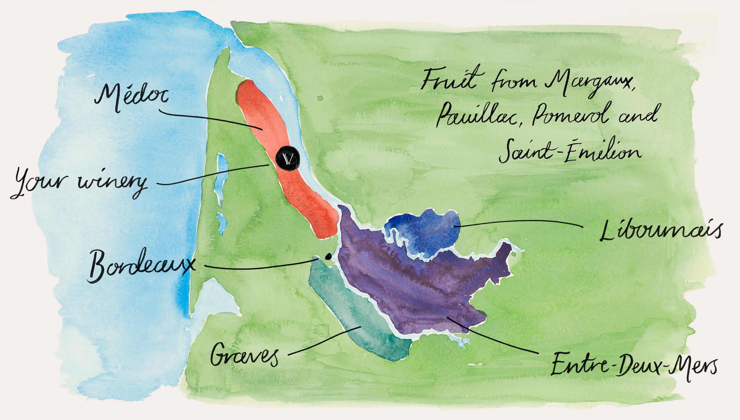 Explore Bordeaux wine region with VINIV