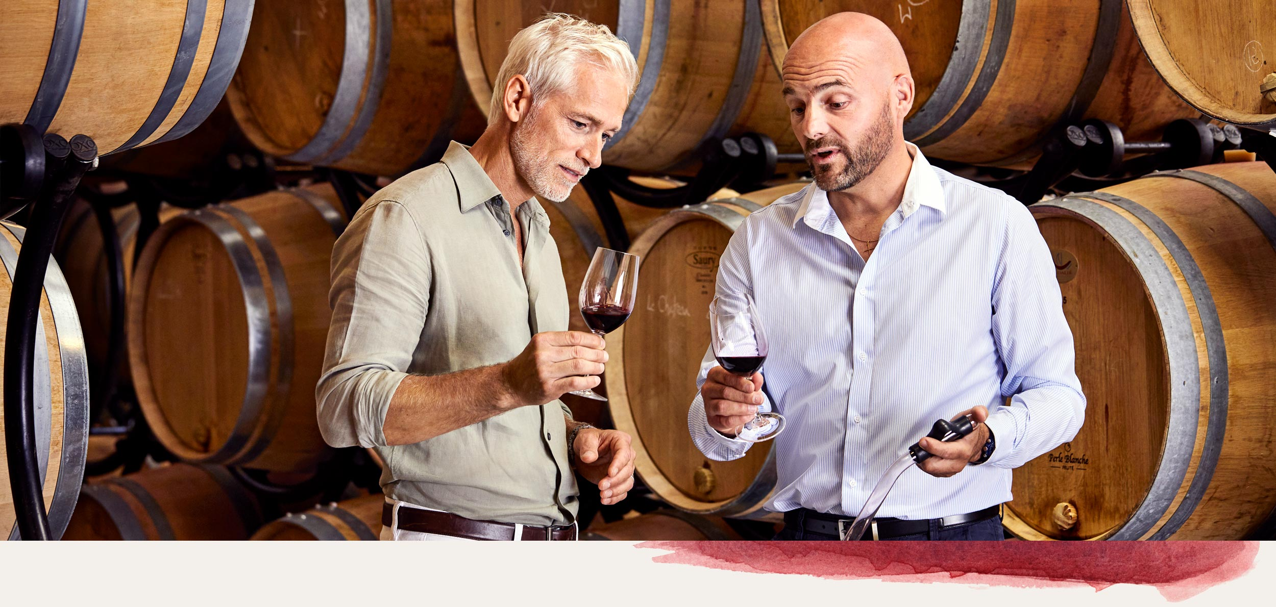 Create a wine in Bordeaux with leading experts like Nicolas Labenne