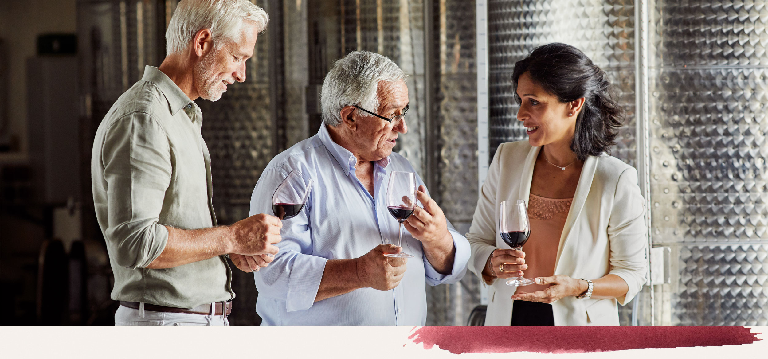 Tasting and blending wines with experts like Daniel Llose