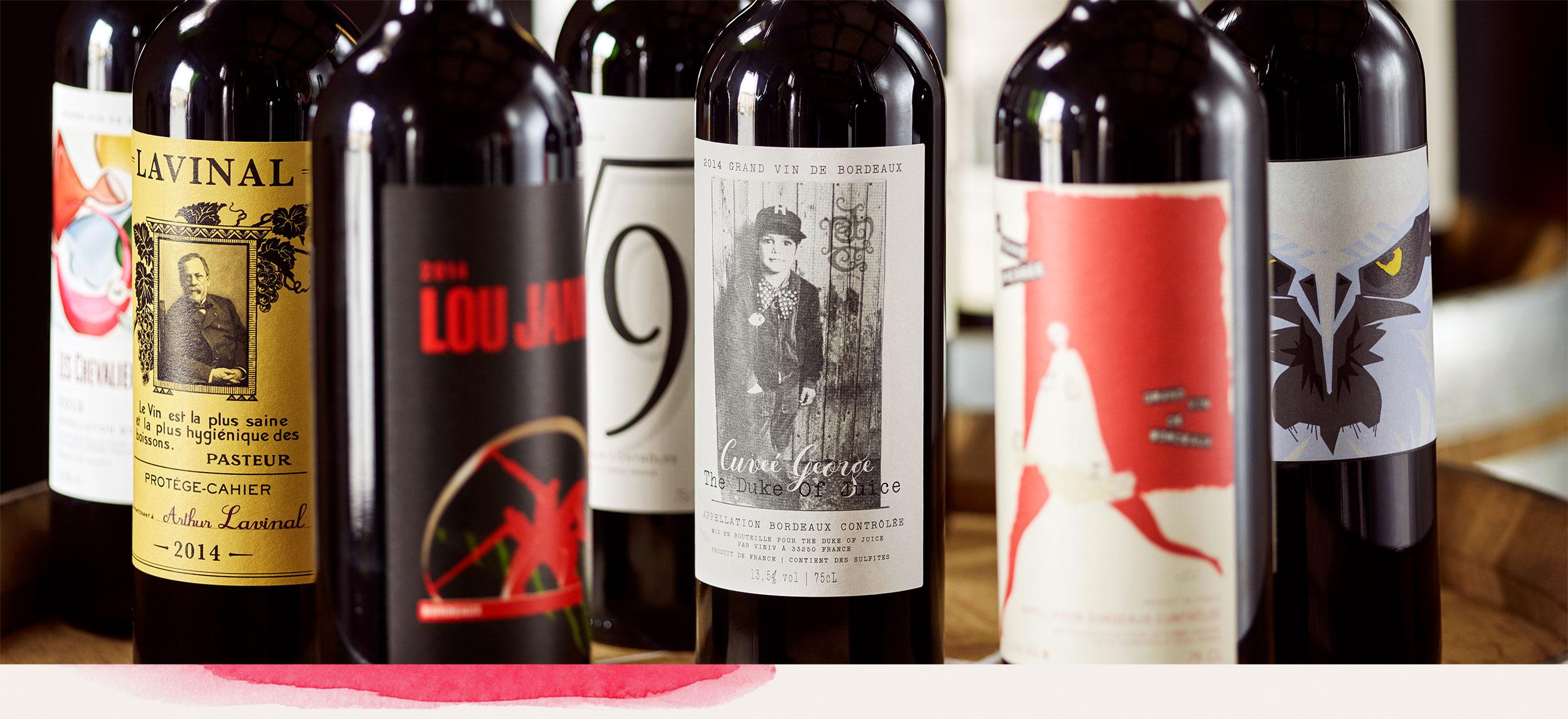 Bespoke winemaking and branding experience Bordeaux