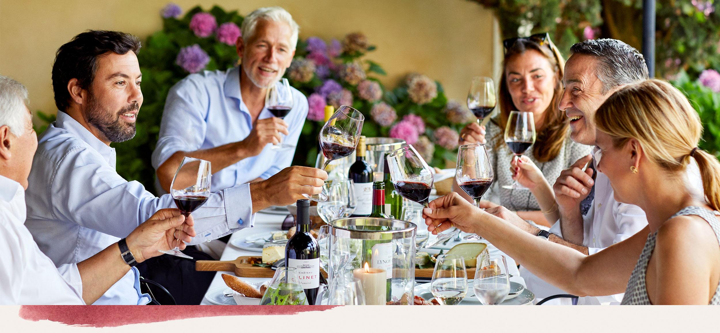 Enjoying the company of the VINIV winemaking community