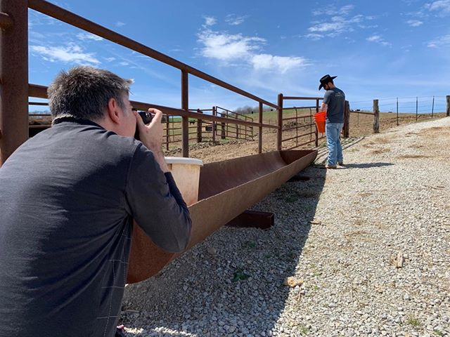 Got to hang out with the Cowboys at @kccattlecompany for an upcoming episode of @hiringamerica. Check local listings.