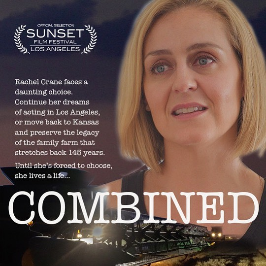 Thanks to all who contributed to 'Combined', it won 'Best story' award at the Sunset Film Festival.