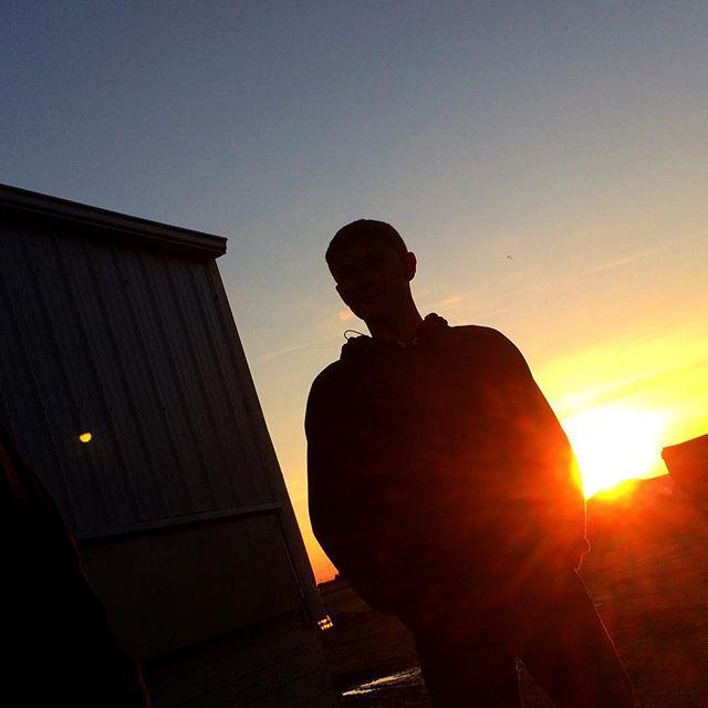 Nice sunrise on a farm shoot in Onarga, IL this week