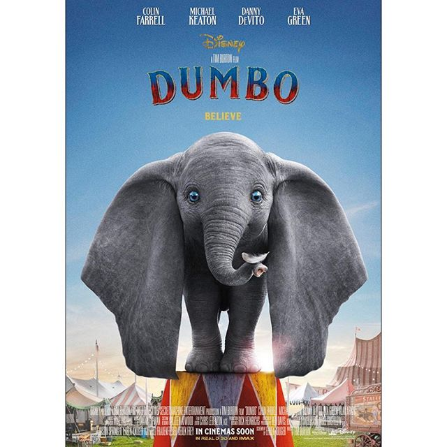 @disneystudios latest Live Action feature @dumbo hits UK cinemas TODAY! With Danny DeVito, Colin Farrell, Eva Green and TCG's @vincentandriano