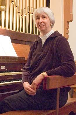 Judy Gray, Organist