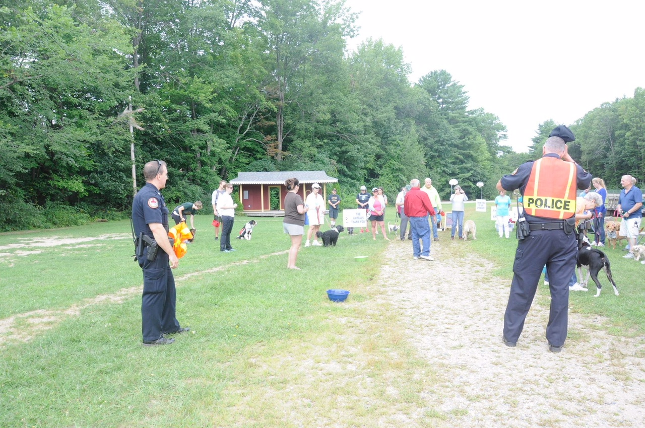 Special THANKS to the Wakefield Police for their excellent escort service for the ARFF Walk