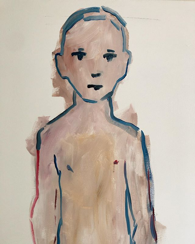 Strange Boy #2 - detail - 4 feet by 6 feet