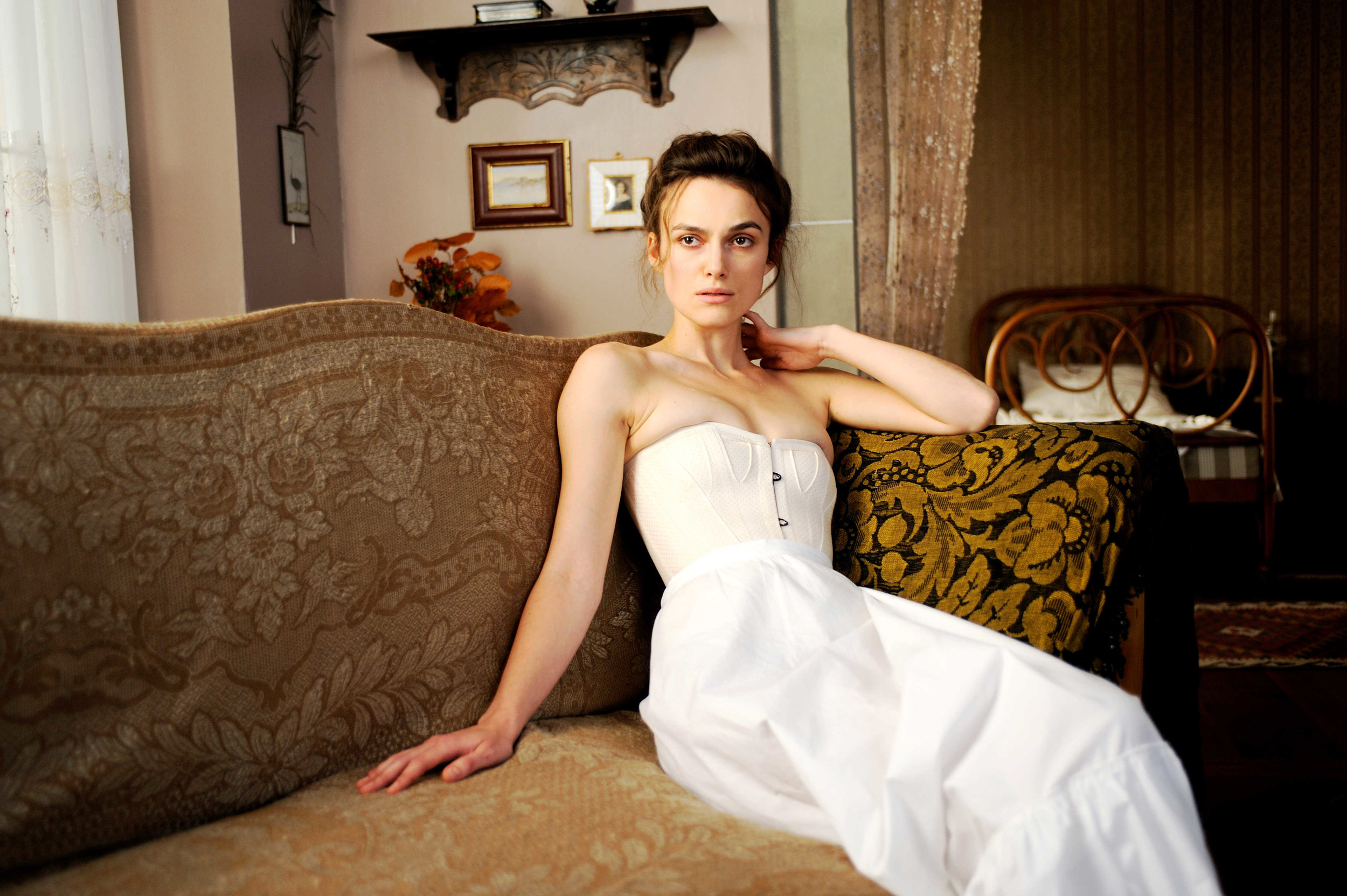 Keira Knightley stars in  A Dangerous Method (2011) as a patient of both Freud and Jung. The film was shot in German studios, with postproduction in Canada.
