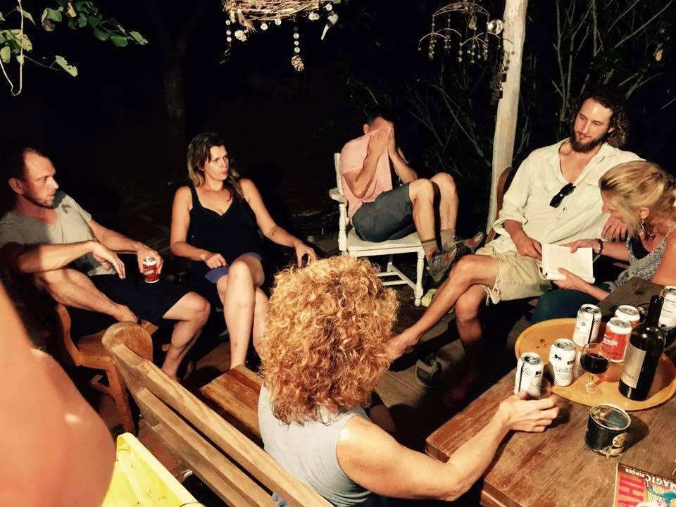 After Chris left town, the Bendfolk gather weekly for a Sex at Dawn reading circle.