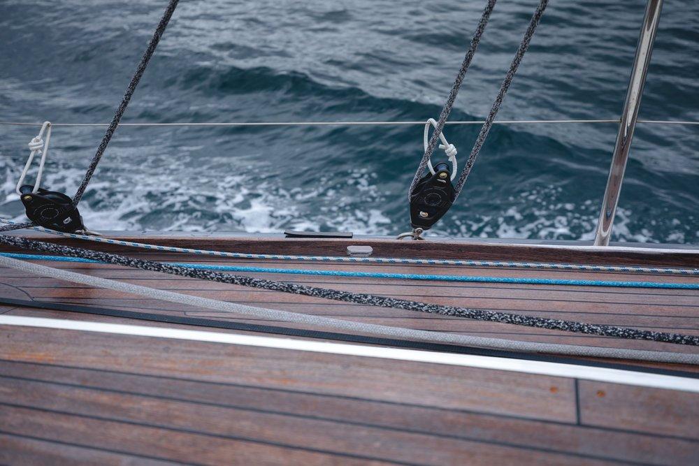 navigation sur un fjord