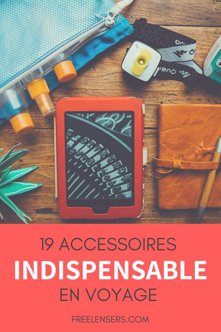 19 accessoires indispensable en voyage