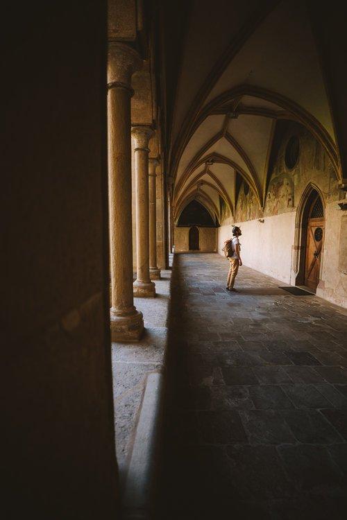 peinture dans le couvent