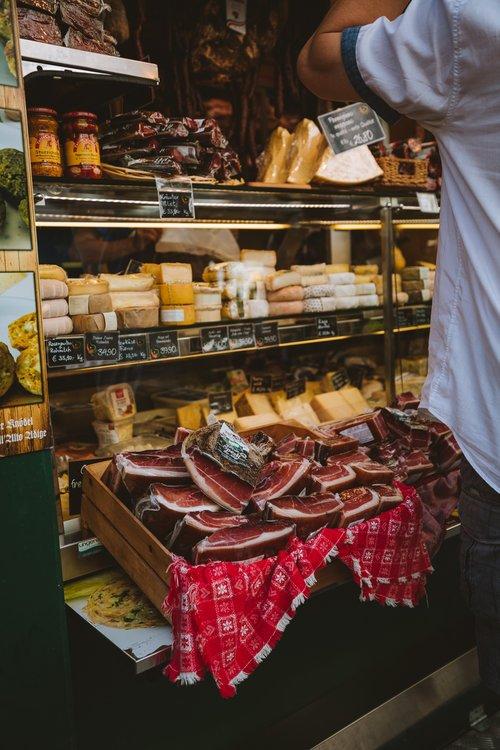 jambon et fromage du tyrol