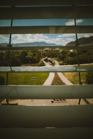 vue sur bolzano depuis le musee