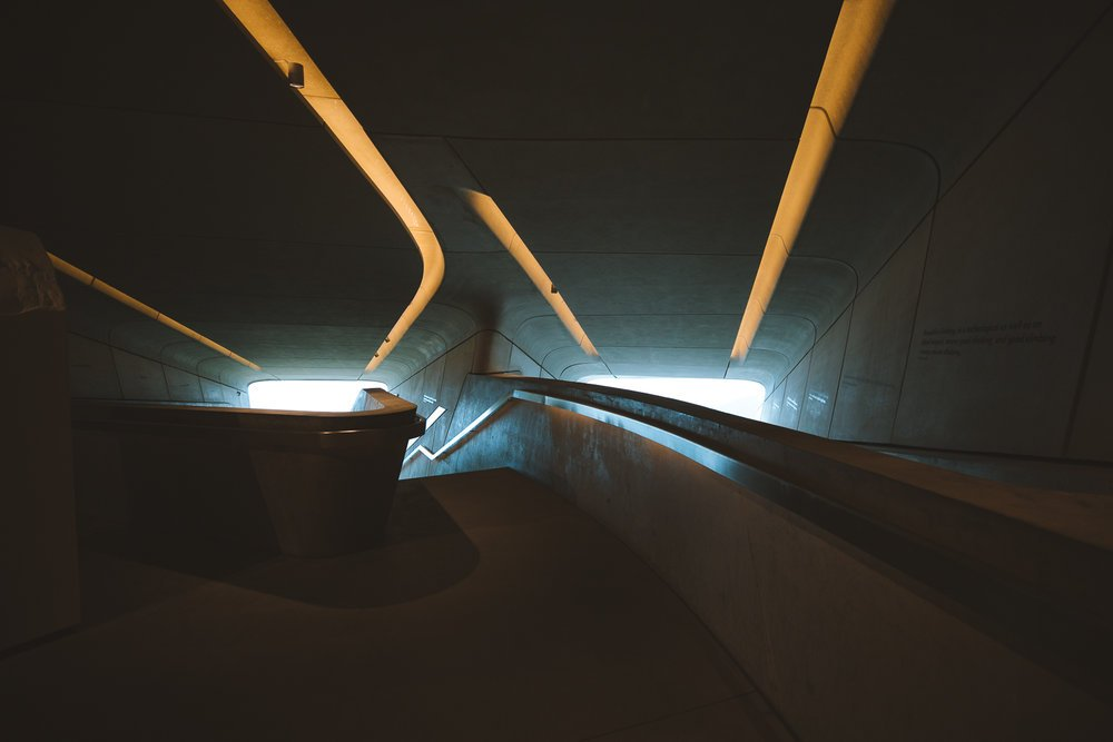 interieur musee messner corones