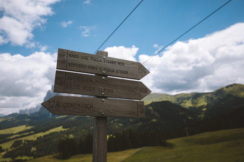 topo guide randonnee seiser alm