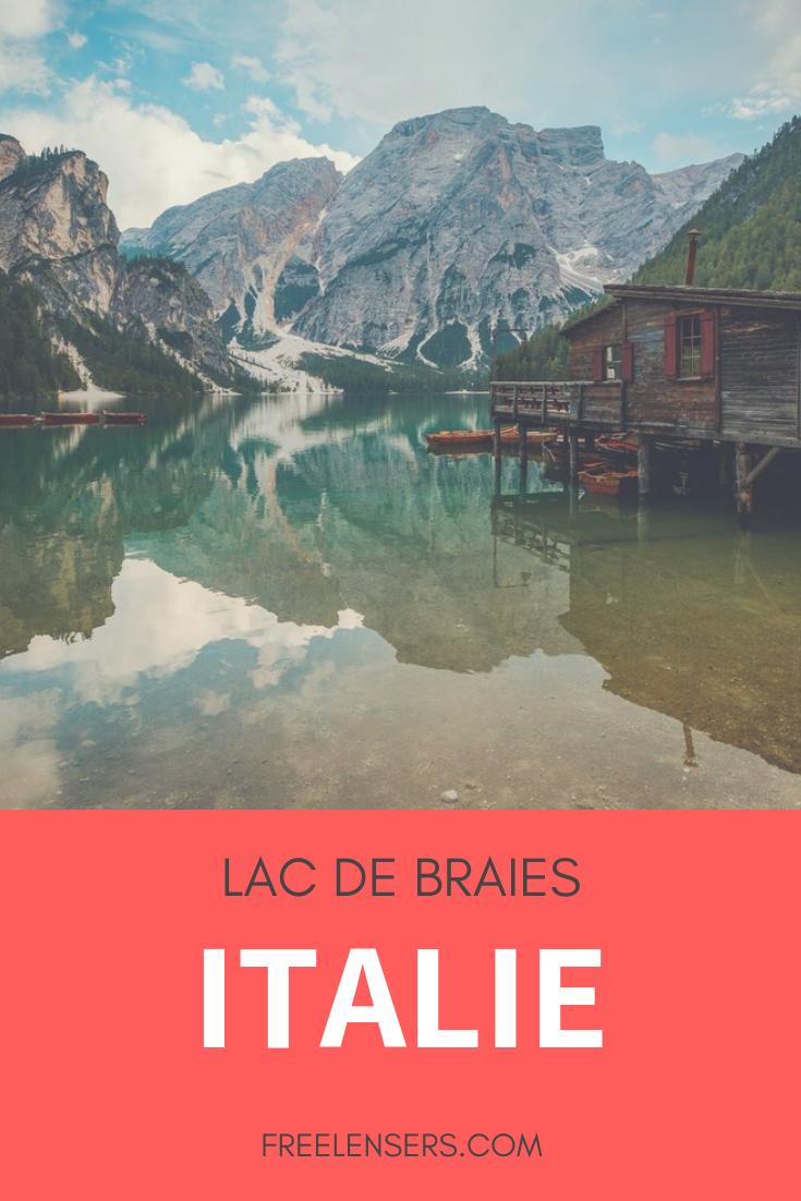 lac de braies italie