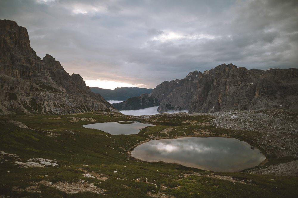 lago di via ferrata