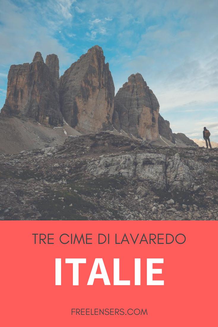 randonnée italie tre cime di lavaredo