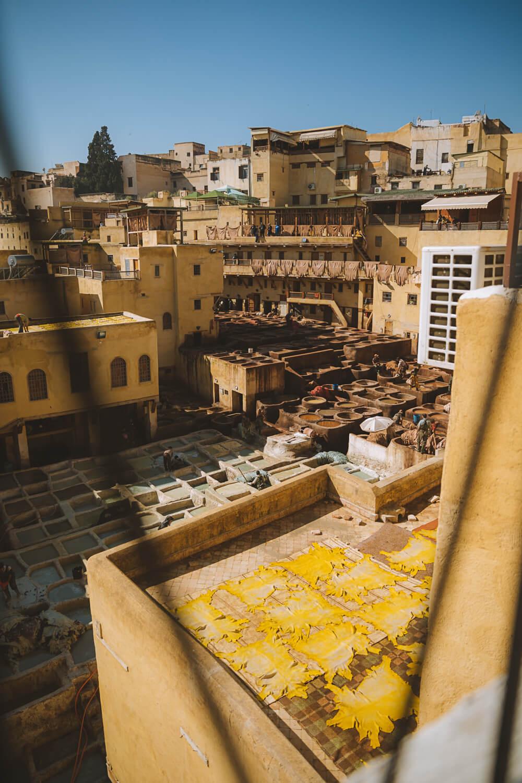 peaux cuir medina